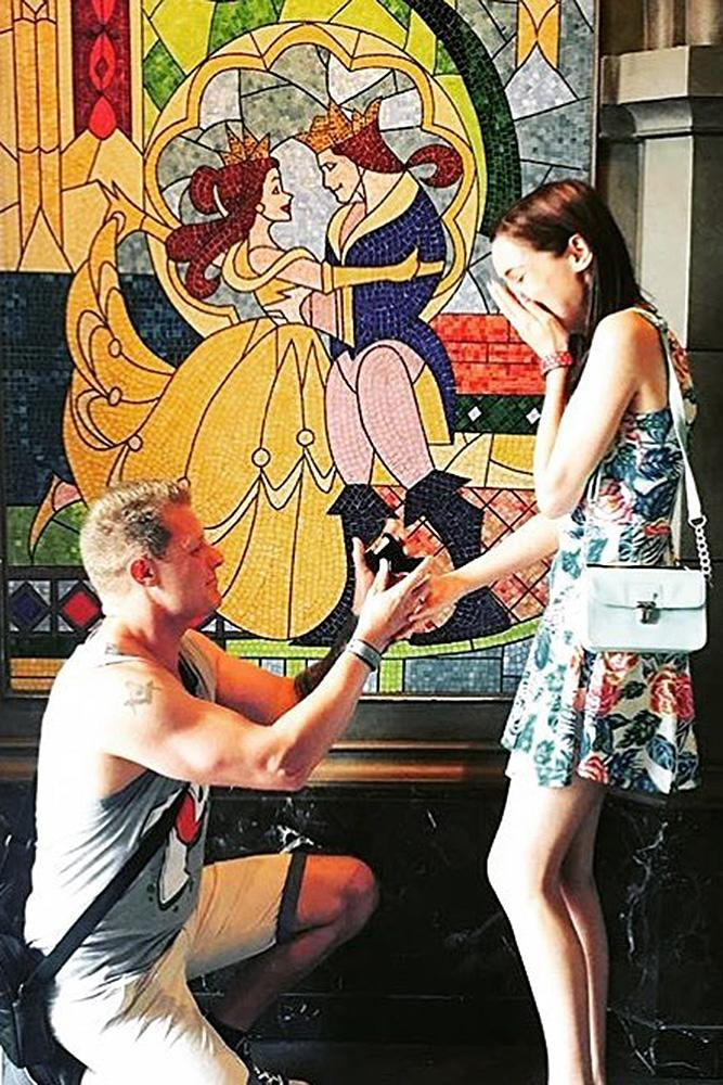 disney proposal ideas cute proposal with cartoon characters the beauty and the beast