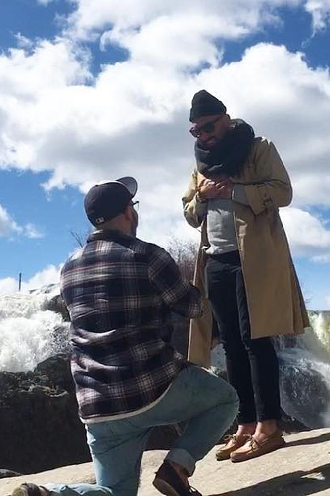 same sex proposals proposal at the nature