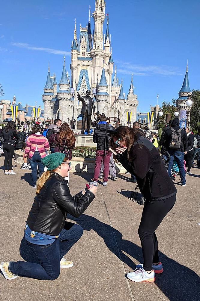 same sex proposals woman propose a woman disney