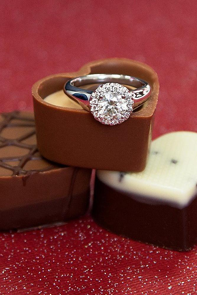 valentines day proposal candy chocolate ring