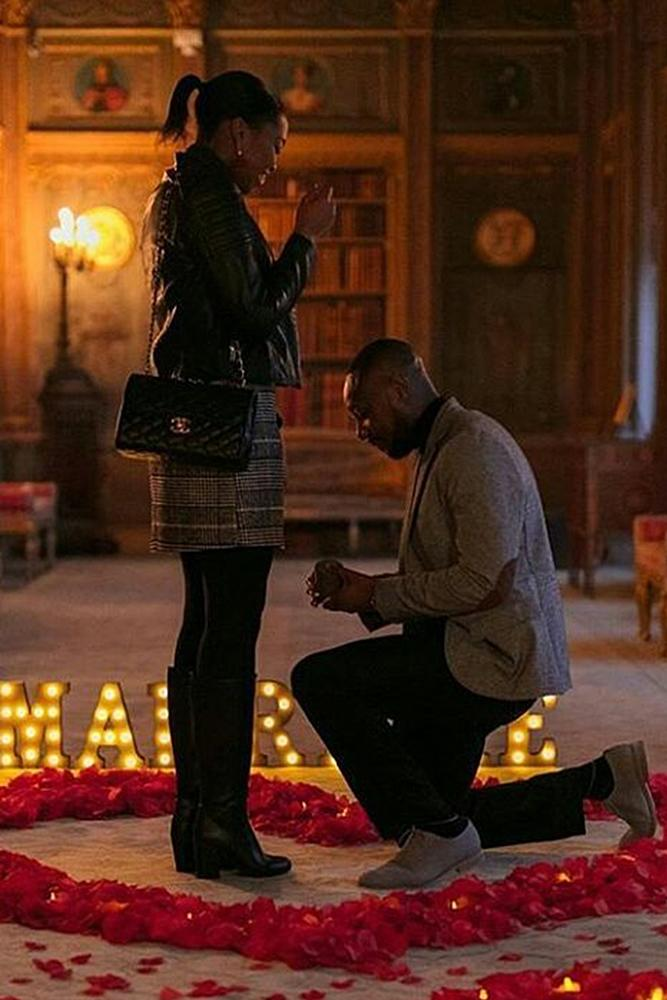 valentines day proposal man propose a woman
