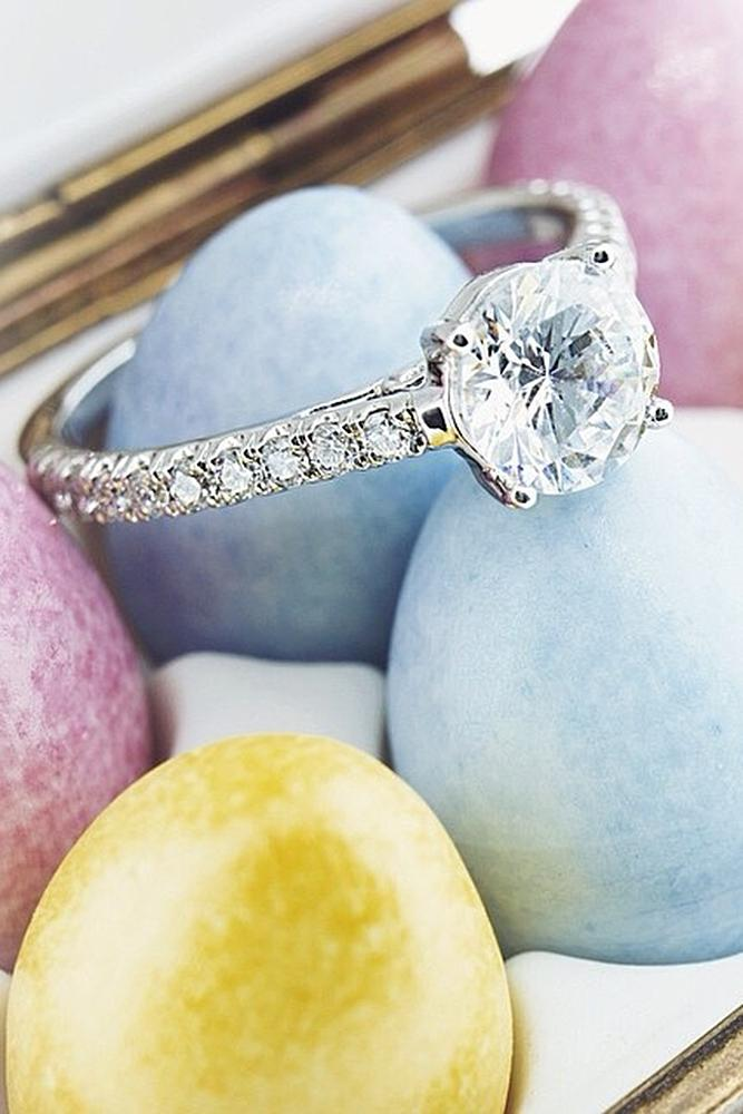 easter proposal ideas eggs engagement ring diamond