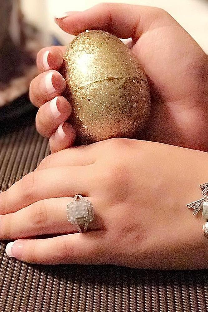 easter proposal ideas surprise engagement ring