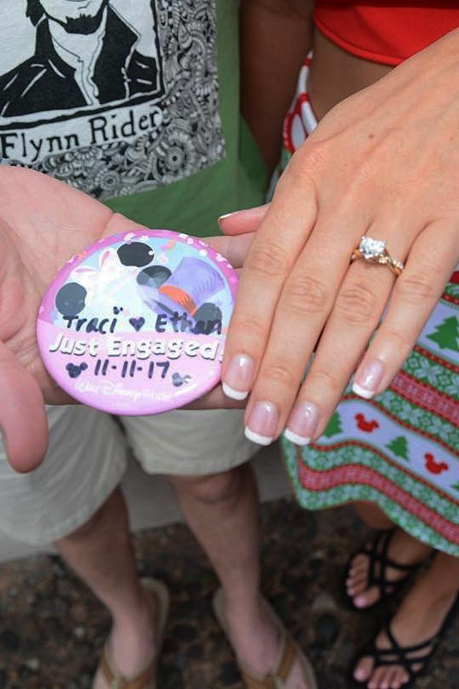 unique engagement ideas engaged couple engagement ring disney