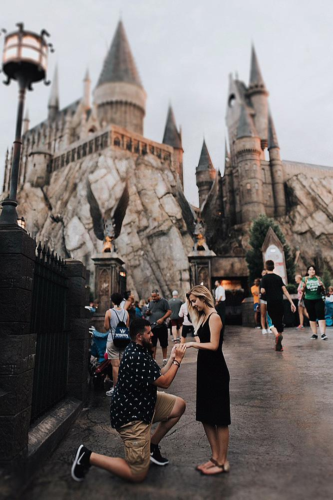 unique engagement ideas harry potter theme proposal
