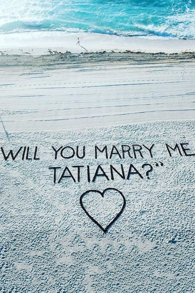 beach proposals wonderful proposal on a sand marry me near ocean