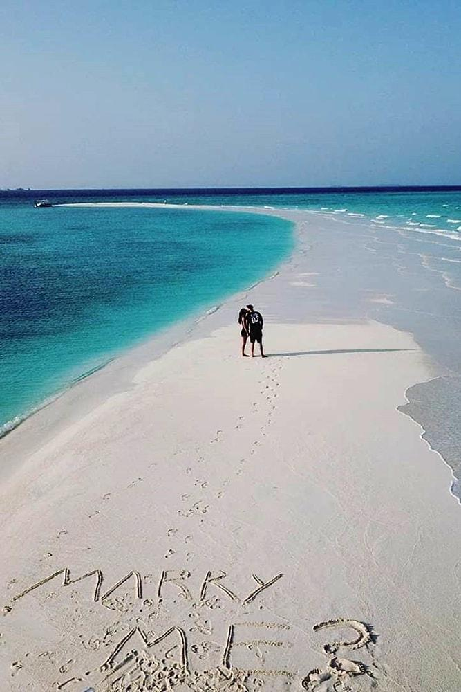 beach proposals wonderful proposal on a sand marry me white sand turquoise water