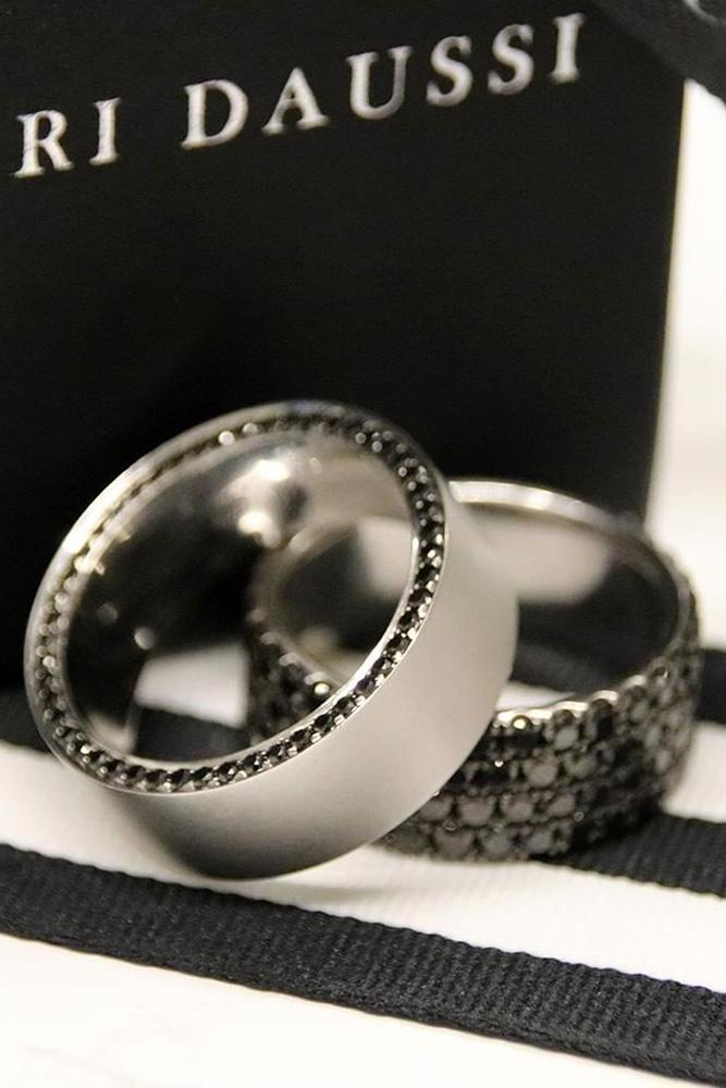 black diamond engagement rings white gold wedding bands white gold engagement rings wedding rings for him unique mens rings