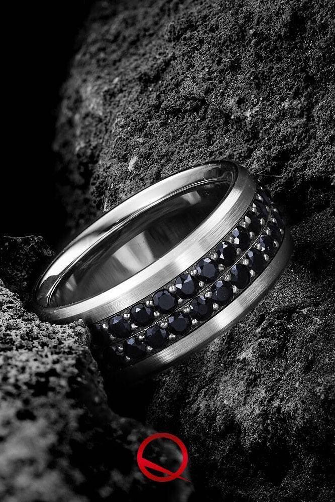 black diamond engagement rings white gold wedding rings wedding bands round black diamond rings