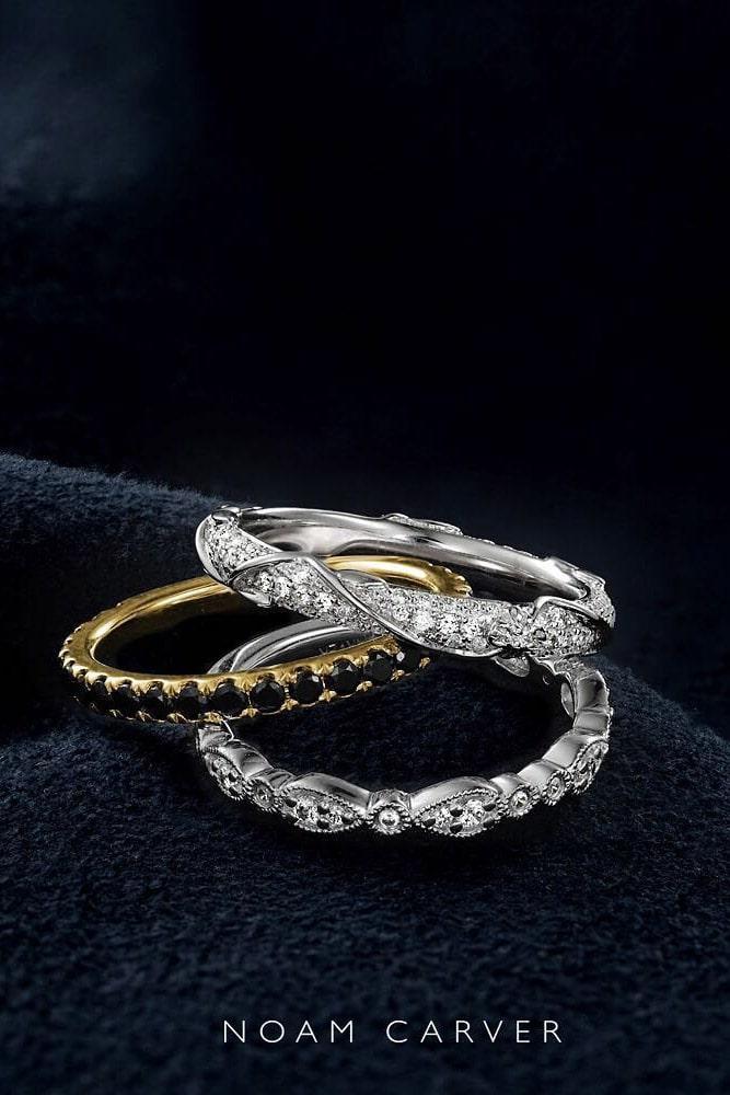 black diamond engagement rings yellow gold wedding rings wedding bands round black diamond rings