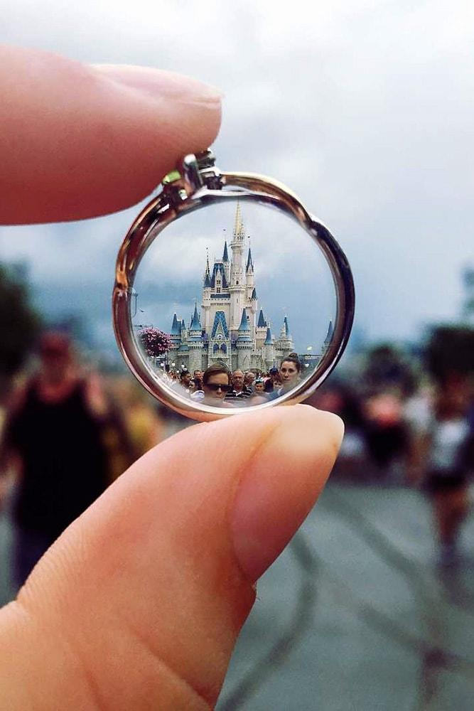 disney proposal ideas creative proposal ideas in disneyland style with engagement ring disney castle