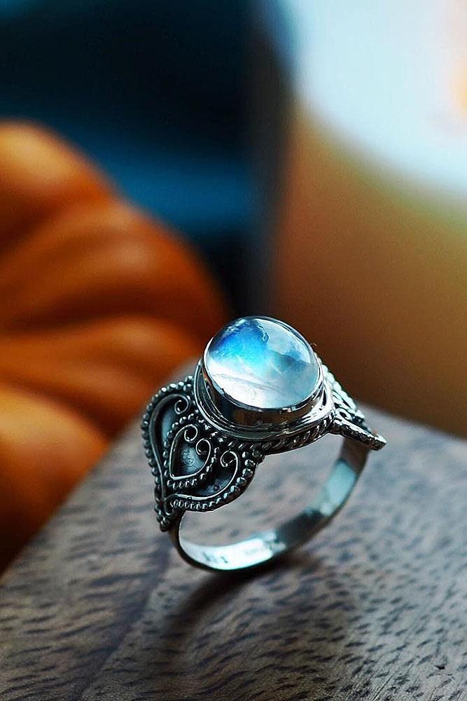 vintage engagement rings unique engagement rings white gold engagement rings gemstone rings