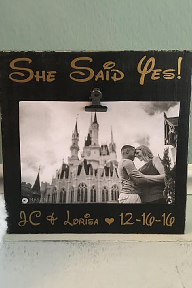 save the date ideas in disneyland style stylish frame