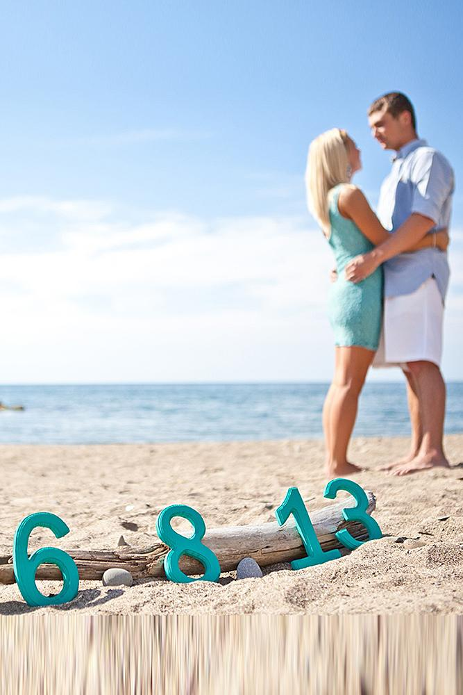 save the date photo ideas beach save date