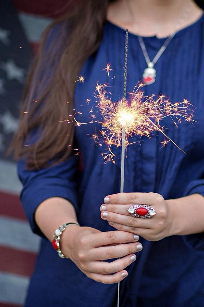 4 july proposal decoration perfect proposal ideas with sparkler and american flag
