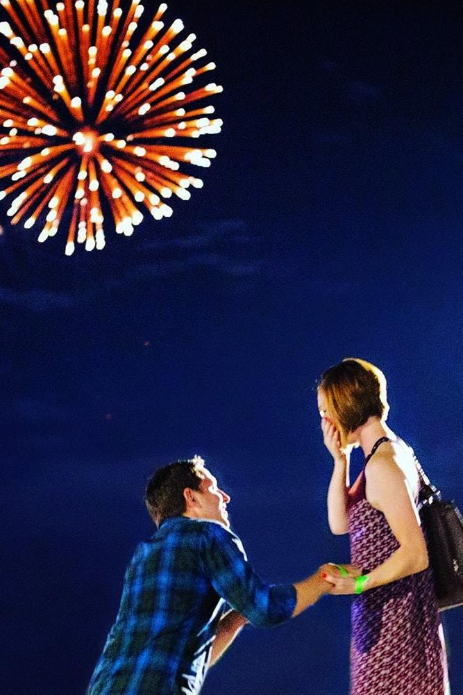 4 july proposal decoration perfect proposal on independence day fireworks in night sky she wondered