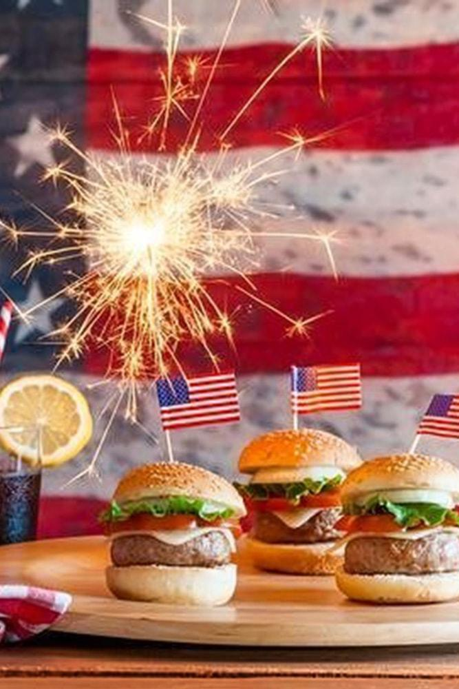4 july proposal decoration perfect proposal on independence day idea with flags sparklers and hamburgers