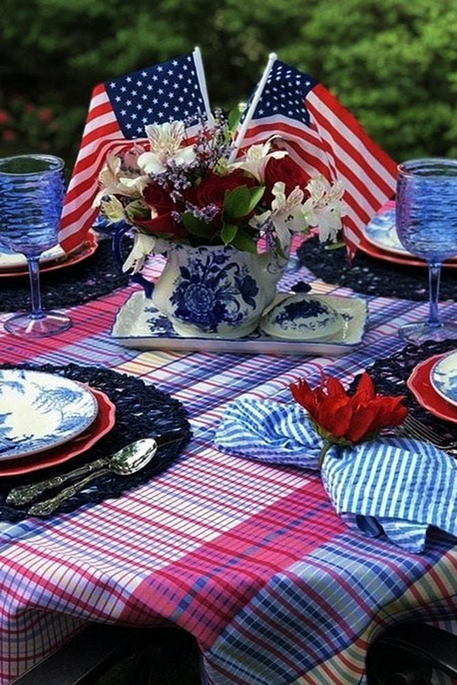 4 july proposal decoration table setting perfect proposal on independence day