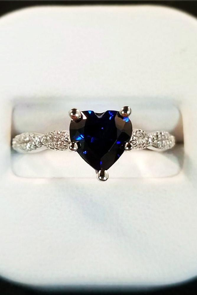heart engagement rings sapphire engagement rings best engagement rings white gold engagement rings twisted bands rings