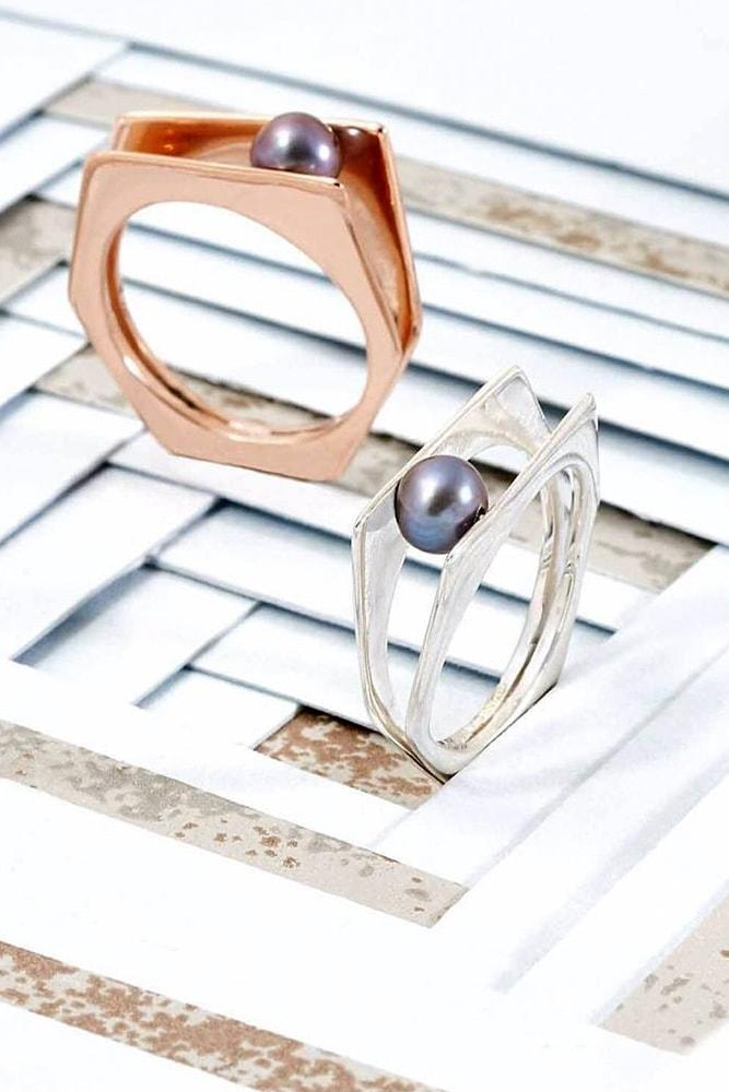 pearl engagement rings rose gold engagement rings white gold engagenment rings black pearl rings