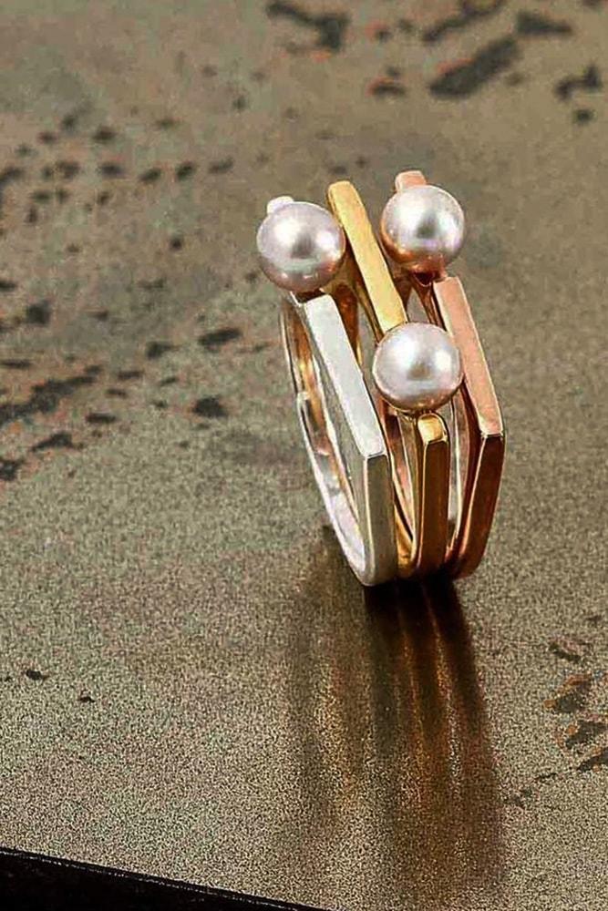 pearl engagement rings rose gold engagement rings white gold engagenment rings yellow gold engagement rings
