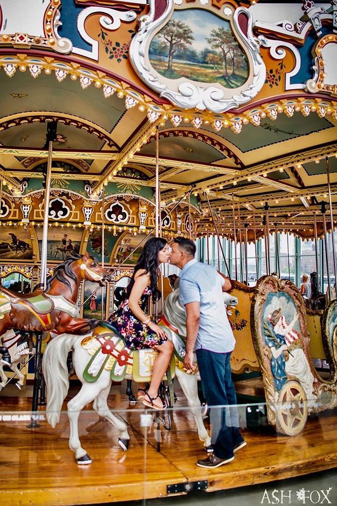 perfect proposals amaizing proposal ideas for inspiration carousel kiss