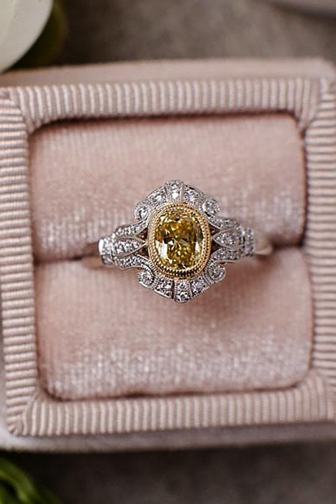 white gold engagement rings vintege engagement rings diamond rings