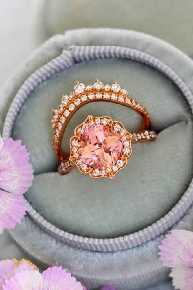 beautiful wedding ring sets unique wedding rings diamond wedding ring sets rose gold wedding ring sets round engagement rings