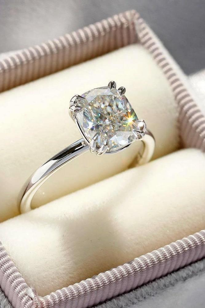 cushion cut engagement rings diamond engagement rings beautiful engagement rings ring boxes solitaire engagement rings