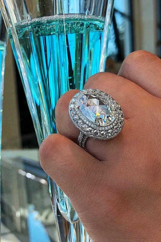 diamond engagement rings white gold engagement rings oval engagement rings halo engagement rings