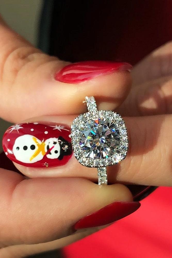 diamond engagement rings white gold engagement rings round engagement rings halo engagement rings