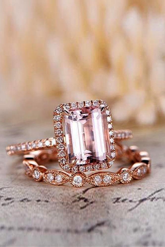 emerald engagement rings rose gold engagement rings wedding ring sets vintage wedding rings morganite engagement rings