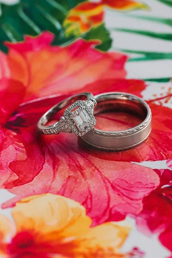 emerald engagement rings white gold engagement rings wedding ring sets vintage wedding rings halo engagement rings