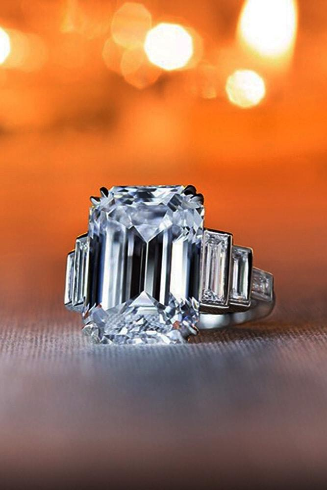 harry winston engagement rings emerald cut engagement rings white gold engagement rings three stone engagement rings