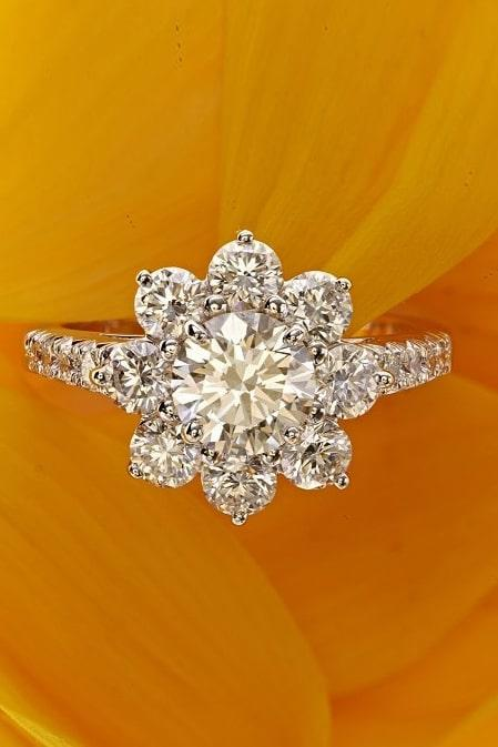 harry winston engagement rings white gold engagement rings diamond engagement rings flower engagement rings