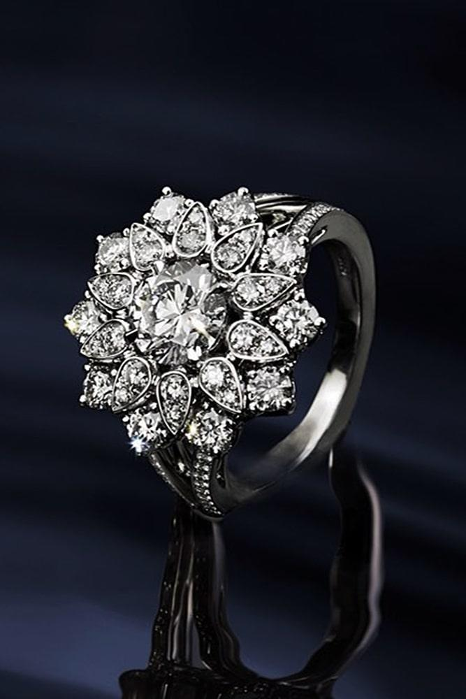 harry winston engagement rings white gold engagement rings unique engagement rings flower engagement rings