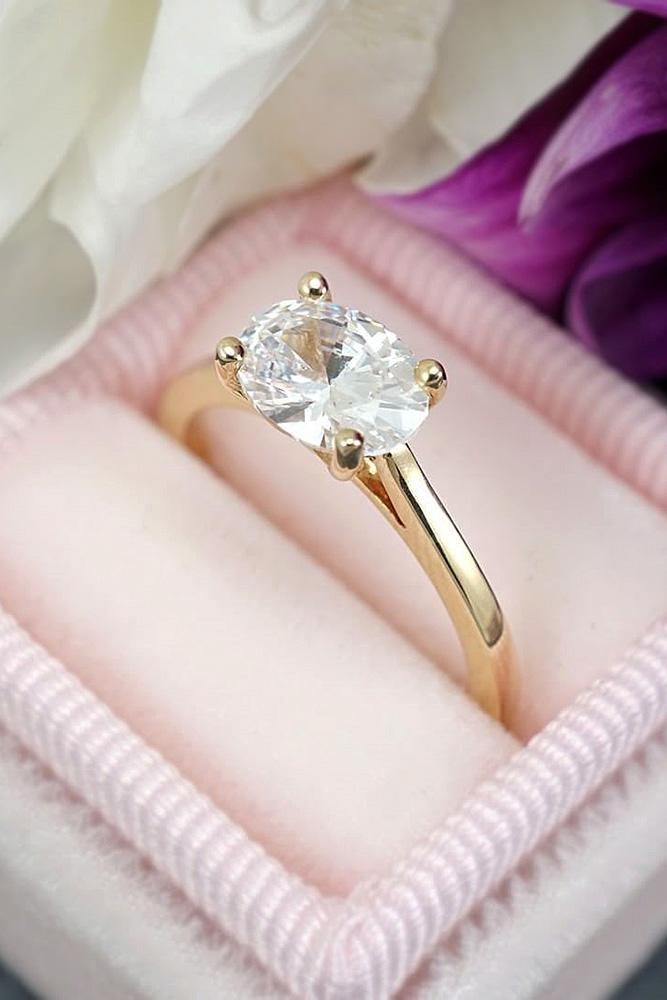 oval engagement rings simple engagement rings solitaire engagement rings classic rings
