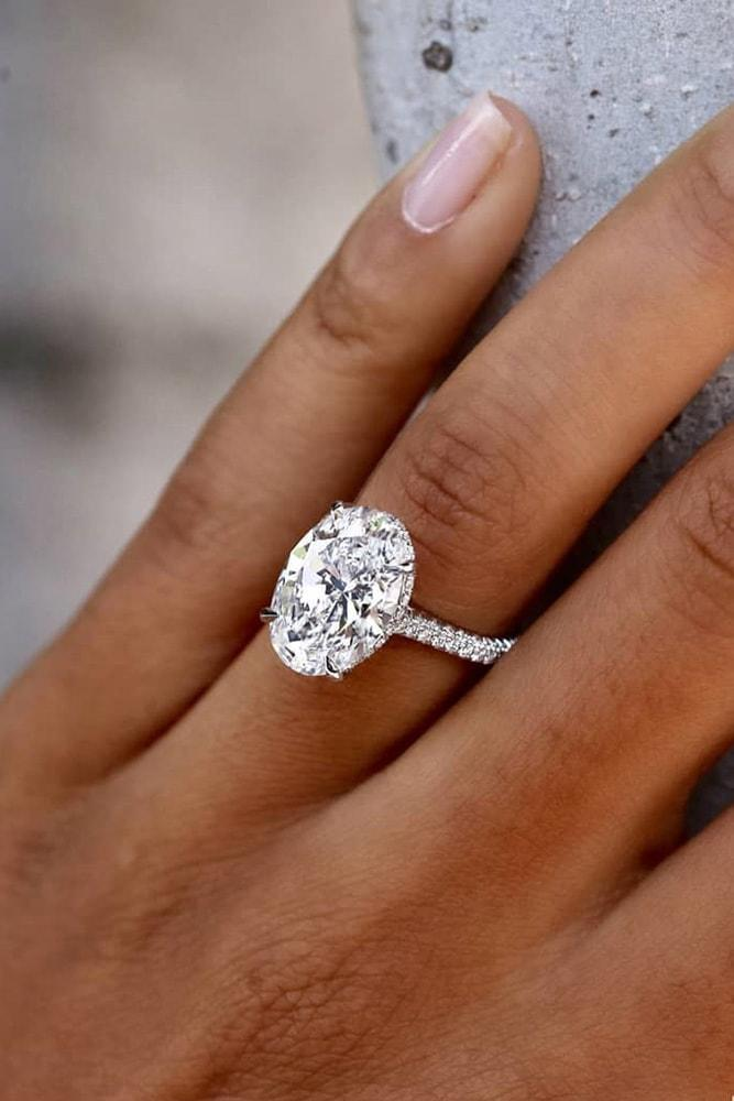 oval engagement rings white gold best engagement rings solitaire engagement rings