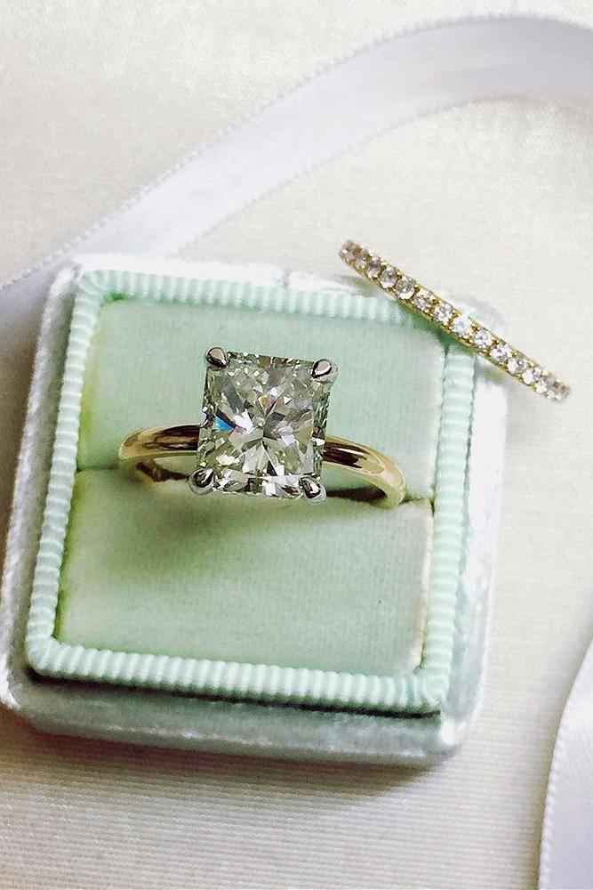 princess cut engagement rings diamond engagement rings rose gold engagement ring ring boxes