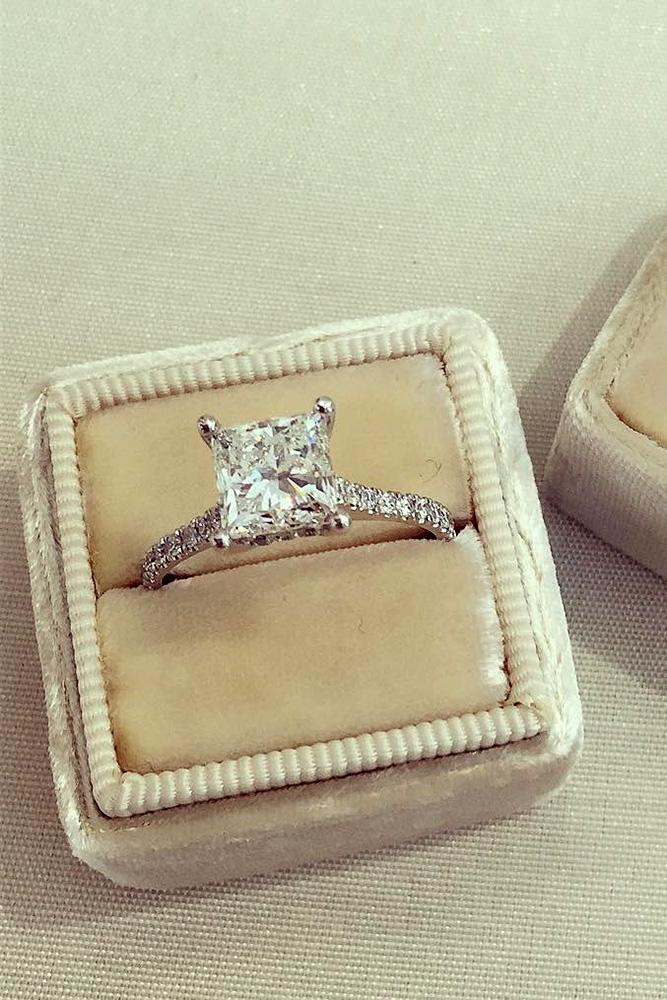princess cut engagement rings diamond engagement rings white gold engagement rings