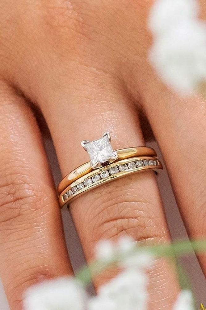princess cut engagement rings wedding ring sets rose gold wedding ring sets solitaire engagement rings classic engagement rings