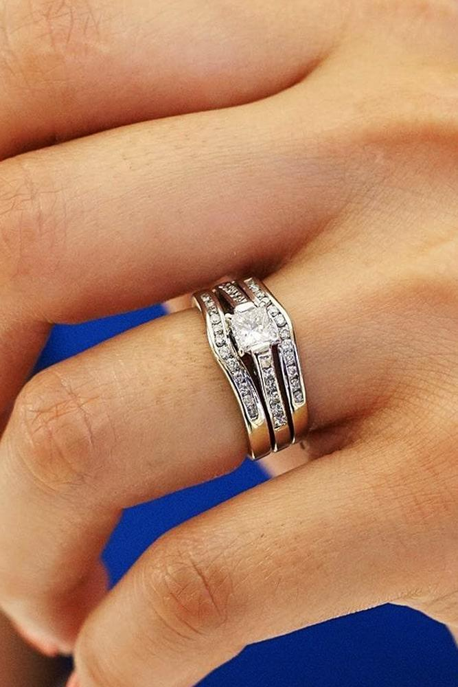 princess cut engagement rings wedding ring sets white gold wedding ring sets solitaire engagement rings classic engagement rings