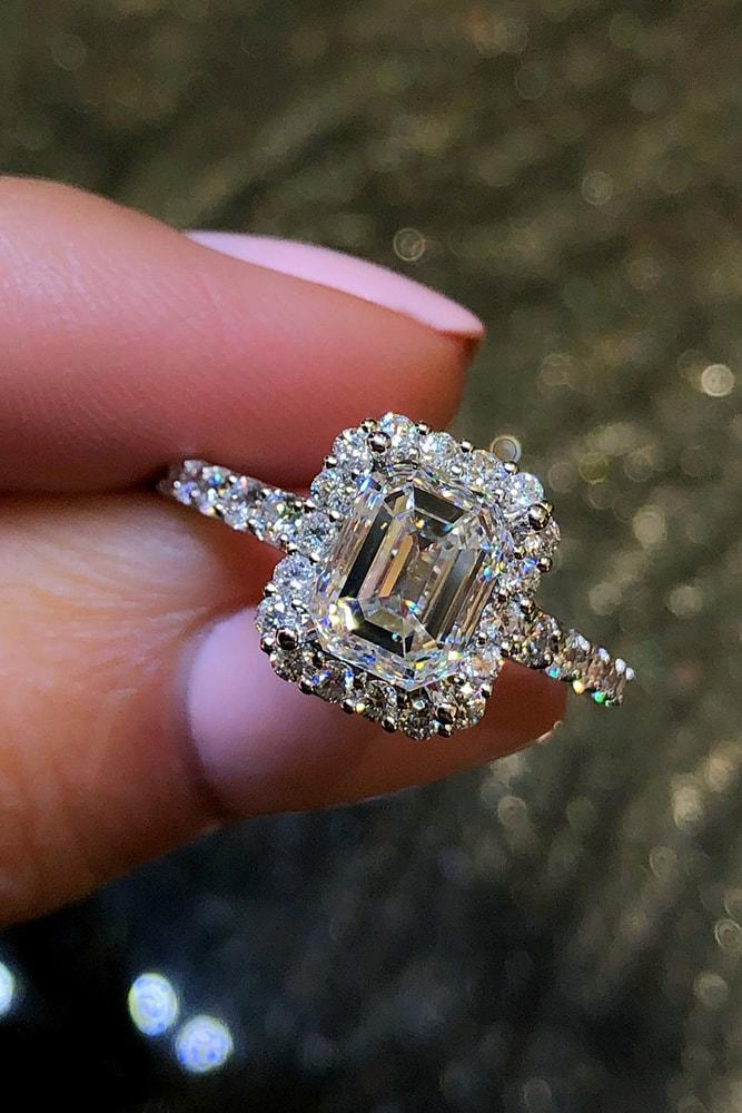 ring trends emerald cut engagement rings white gold engagement rings halo engagement rings best engagement rings