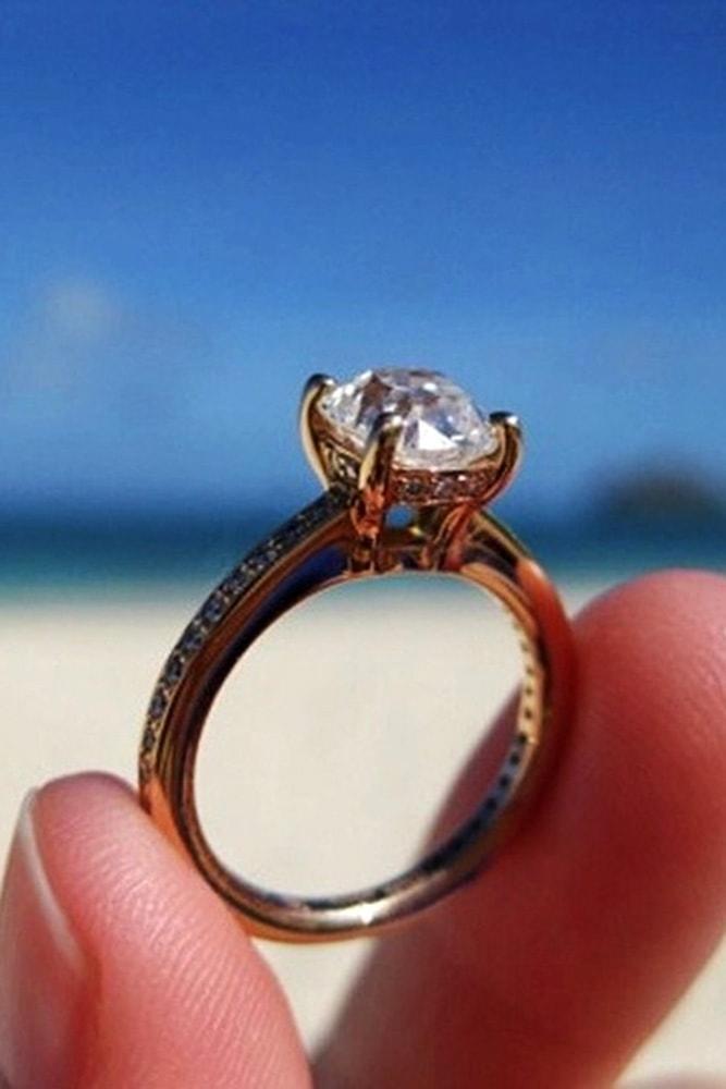 ritani engagement rings rose gold engagement rings diamond rings