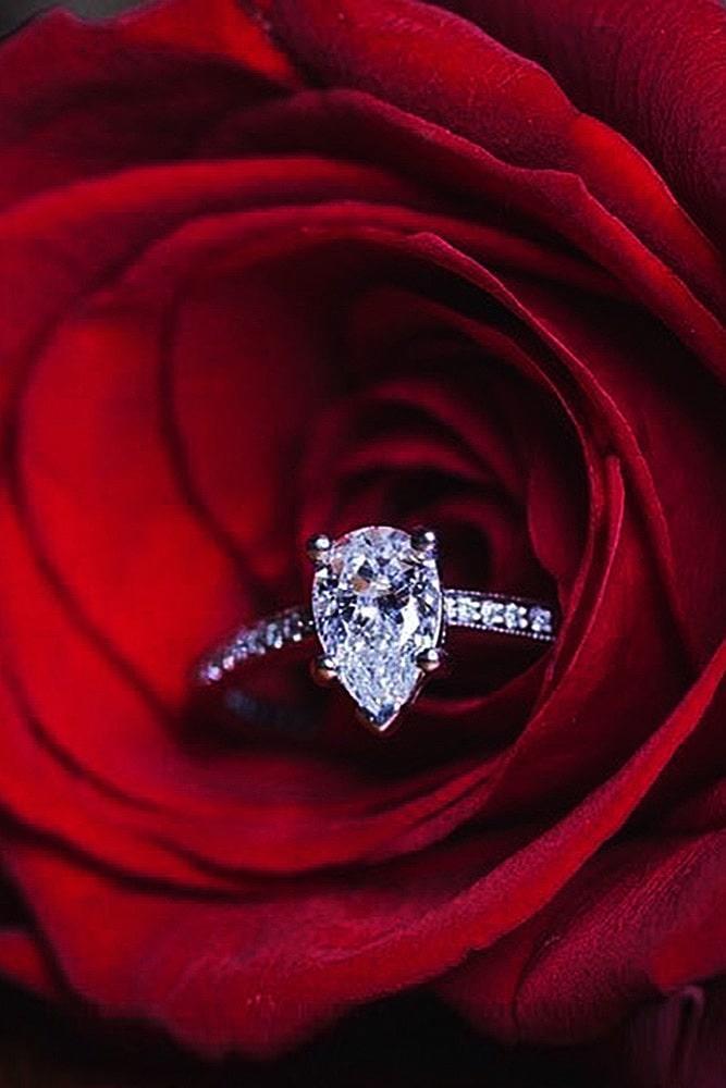 ritani engagement rings white gold engagement rings diamond engagement rings pear cut engagement rings solitaire engagement rings