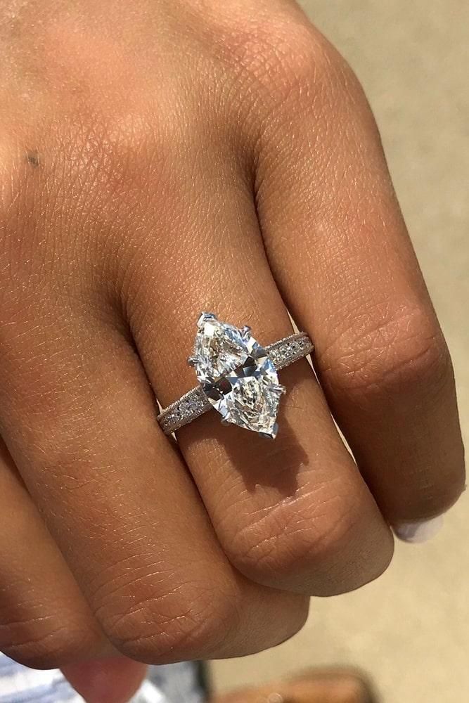 simple engagement rings marquise cut engagement rings solitaire engagement rings white gold enagagement rings diamond engagement rings