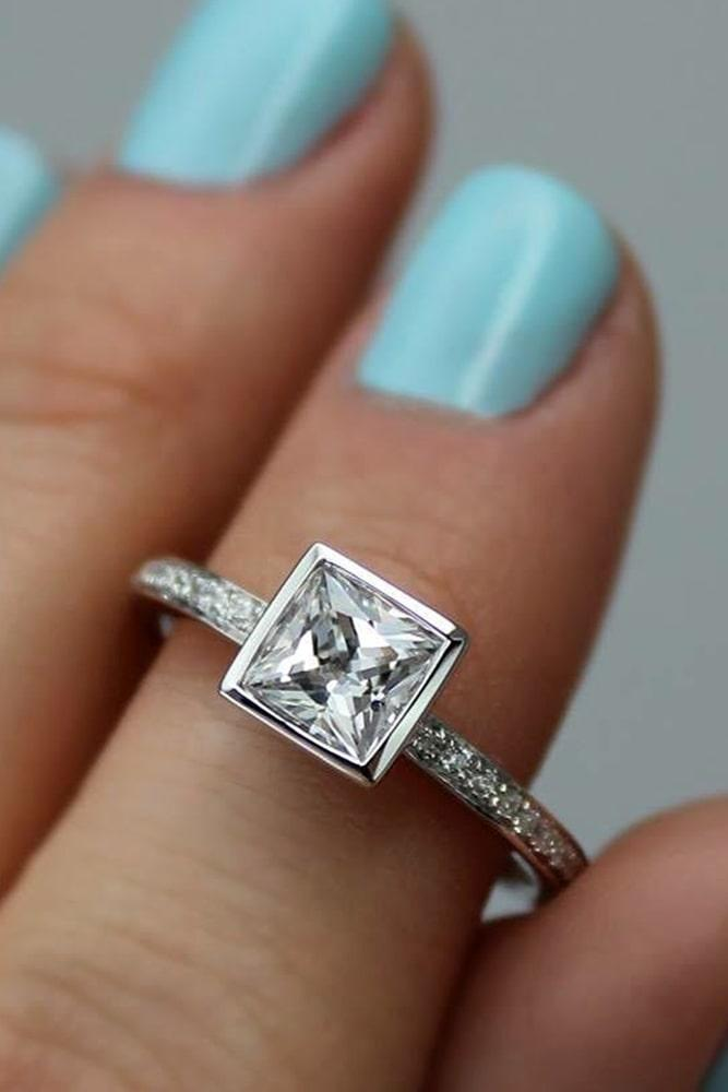 simple engagement rings princess cut engagement rings solitaire engagement rings white gold enagagement rings halo engagement rings