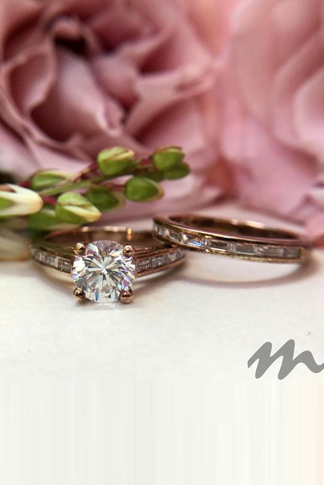 wedding ring sets rosee gold engagement rings diamond engagement rings wedding ring sets beautiful engagement rings