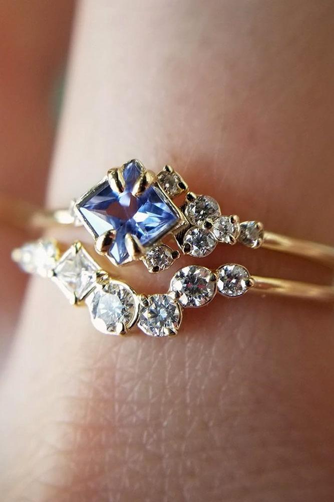 wedding ring sets rose gold engagement rings unique engagement rings flower engagagement rings