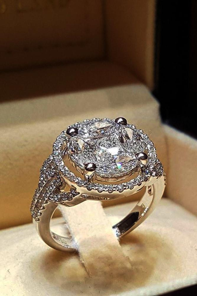 white gold engagement rings modern engagement rings halo engagement rings best engagement rings ring boxes